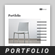 Square Portfolio Template - GraphicRiver Item for Sale
