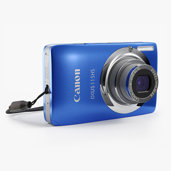 Canon Ixus 115HS Compact Camera - 3DOcean Item for Sale