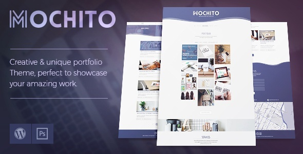 Mochito - One-Page Portfolio Ajax WordPress Theme - Portfolio Creative
