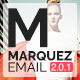 Marquez - Multipurpose Responsive Email: 80+ Sections + StampReady Builder + MailChimp + Mailster - ThemeForest Item for Sale