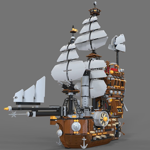 Lego ship air - 3DOcean Item for Sale