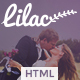 Lilac- Responsive One-page HTML5 Wedding Template - ThemeForest Item for Sale