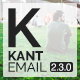 Kant - Responsive Email for Startups with 50+ Sections + StampReady Builder + MailChimp + Mailster - ThemeForest Item for Sale