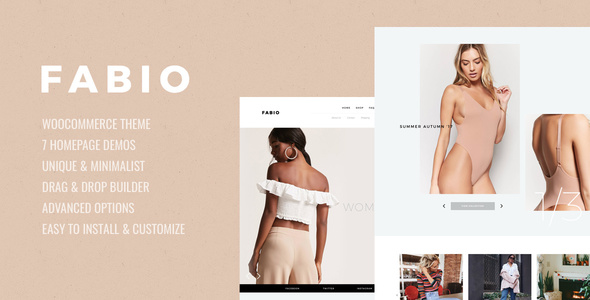 Download Fabio WooCommerce Shopping Theme