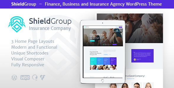 Image of ShieldGroup | Insurance & Finance WP Theme