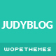JudyBlog - Elegant Blog WordPress Theme - ThemeForest Item for Sale