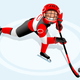 Hockey Vector Cartoon Boy Poster - GraphicRiver Item for Sale