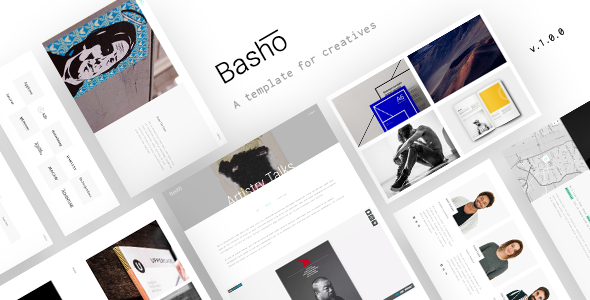 Basho - A Creative HTML5 Template for Freelancers & Agencies - Creative Site Templates