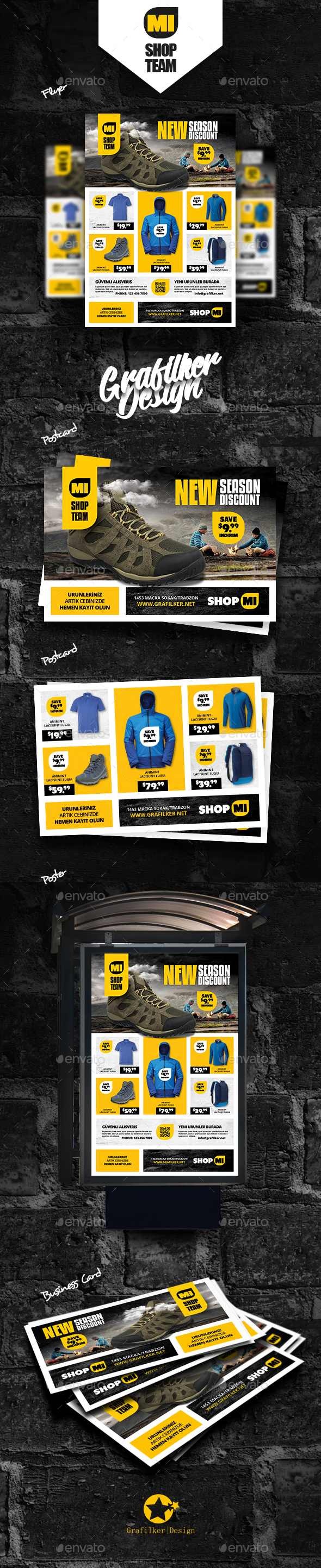 Shopping Bundle Templates - Corporate Flyers
