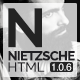 Nietzsche - Creative Multi-Purpose HTML Template - ThemeForest Item for Sale