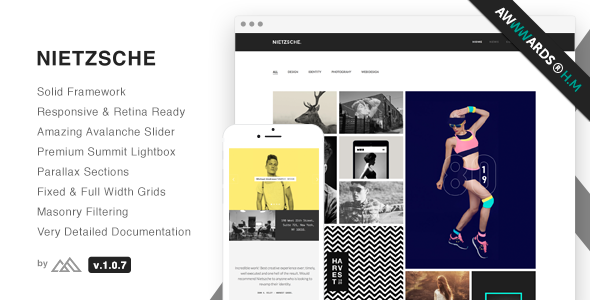 Nietzsche - Creative Multi-Purpose HTML Template - Portfolio Creative