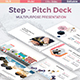 Step - Pitch Deck Multipurpose Powerpoint Template - GraphicRiver Item for Sale