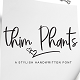 Thim Phants Script - GraphicRiver Item for Sale