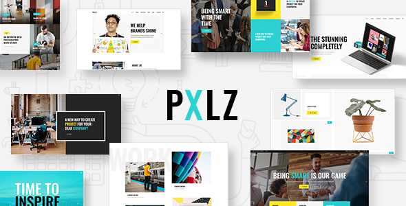Pxlz - A Fresh Multipurpose Creative Theme - Creative WordPress