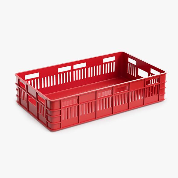 3DOcean Plastic Box 21052740