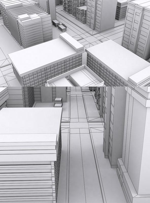 Vr City Building - 3DOcean Item for Sale