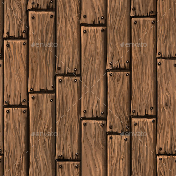 3DOcean Wood Floor Hand Painted Texture 21052992