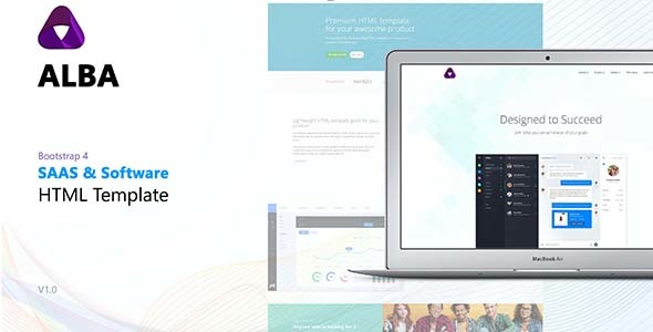 Image of Alba - Startup/Software HTML Template