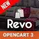 Revo - Drag & Drop Multipurpose OpenCart 3 & 2.3 Theme with 15 Layouts Ready - ThemeForest Item for Sale