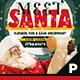 Meet Santa Flyer & Poster - GraphicRiver Item for Sale