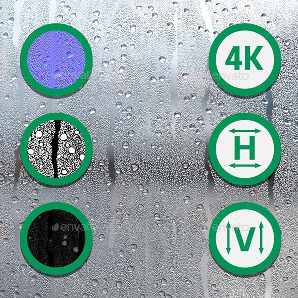 3DOcean Raindrops Texture 21053615