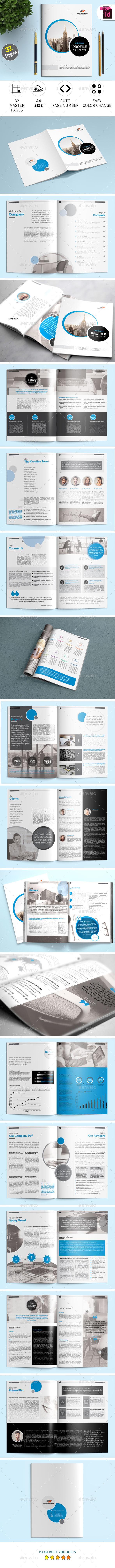 GraphicRiver Company Profile InDesign Template 21053653