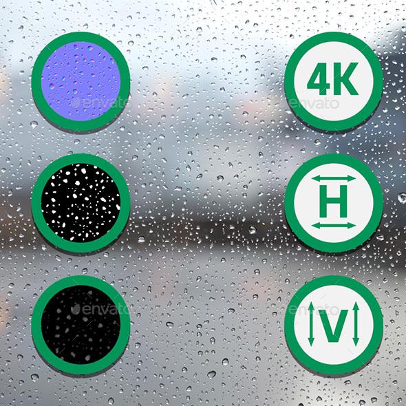 3DOcean Raindrops Texture 2 21053689