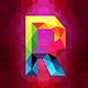 Modern Glitchy Ambient Logo