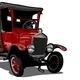 Vector Cartoon Retro Truck - GraphicRiver Item for Sale