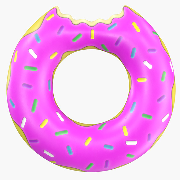 3DOcean Donut Pool Float 21054082