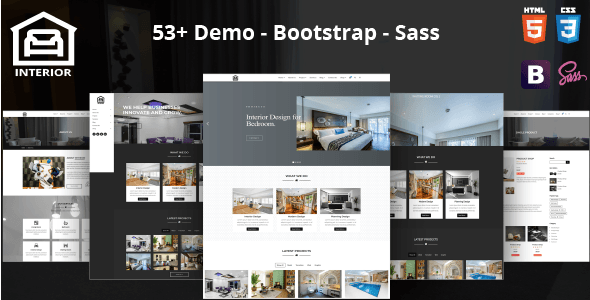 Image of Interior – Modern Interior Design HTML Template