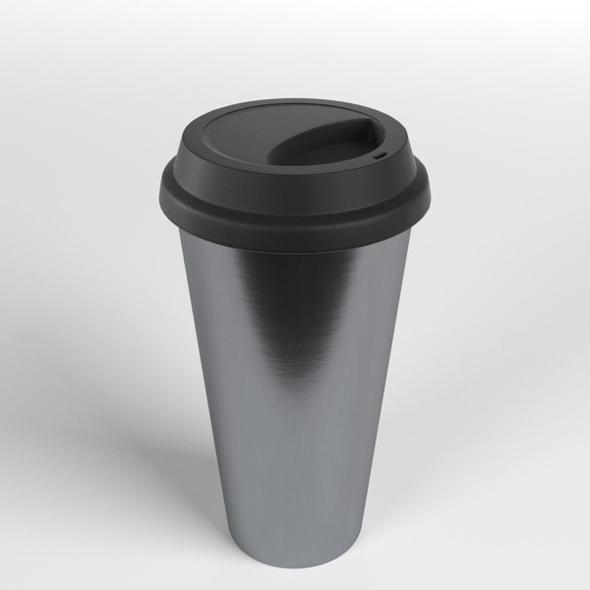 3DOcean Stainless Steel Mug Tumbler 21054214