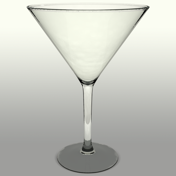 Cocktail Martini Glass Cup Drink - 3DOcean Item for Sale