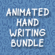 Animated Handwriting Bundle - VideoHive Item for Sale