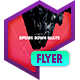 Club Flyer - Upside Down Beats - GraphicRiver Item for Sale