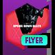 Club Flyer - Upside Down Beats