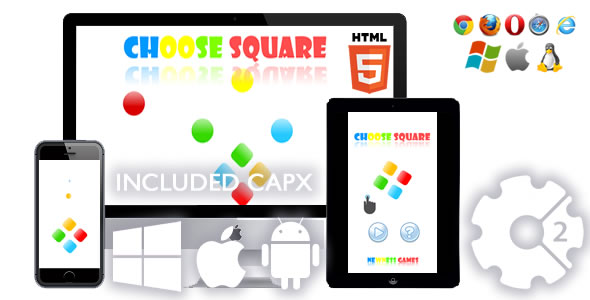 CodeCanyon Choose Square Game 21054833
