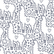 Doodle Llama Pattern - GraphicRiver Item for Sale