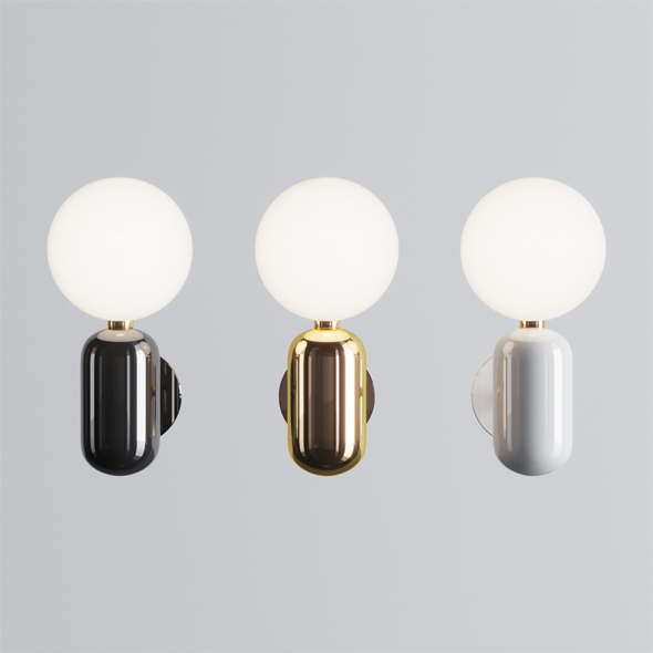 Parachilna Aballs A Wall Lamp - 3DOcean Item for Sale