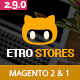Etrostore - Multipurpose Responsive Magento 2 and 1 Theme