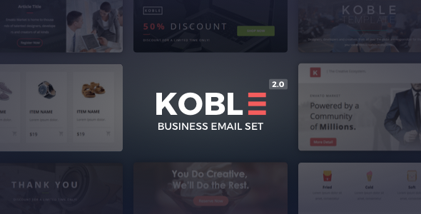 Koble | Business Email Set