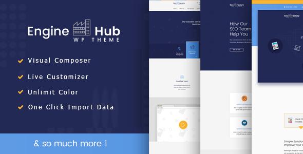 Engine Hub Marketing WordPress Theme