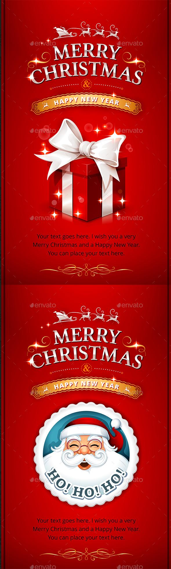 GraphicRiver Christmas Card 21055109