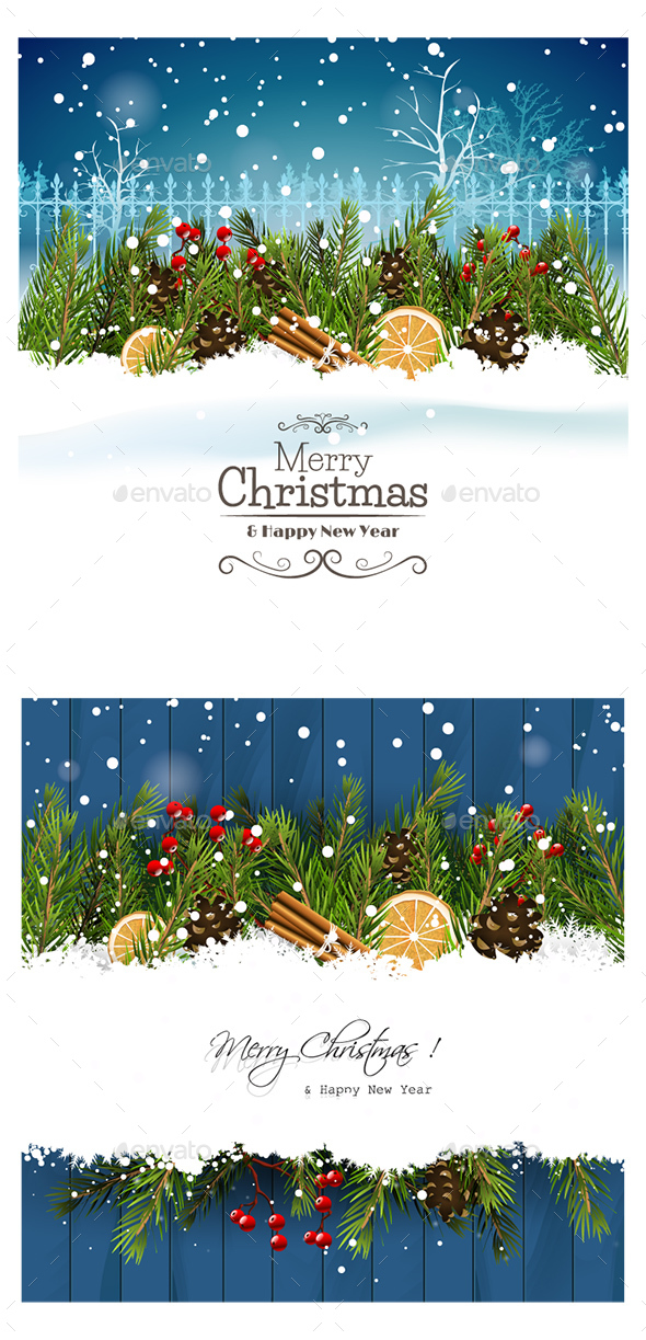 GraphicRiver Christmas Card 21055122