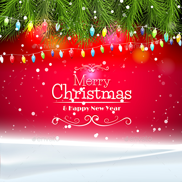 GraphicRiver Clean Christmas Card 21055149