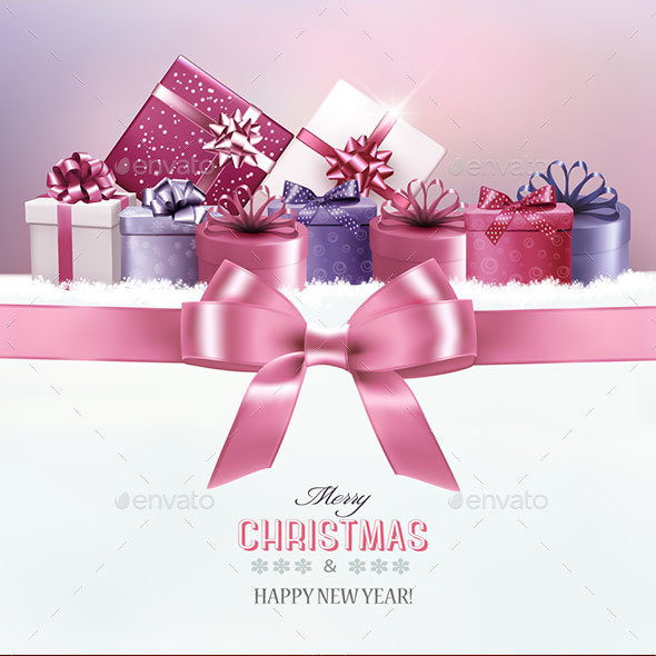 GraphicRiver Luxury Christmas Card 21055162