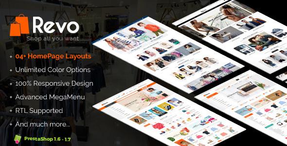 Revo - Premium Responsive Prestashop Theme for Mega Store - Shopping PrestaShop