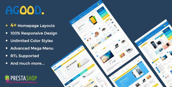 Agood - Store Responsive Prestashop Theme - Shopping PrestaShop