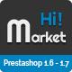HiMarket - Multipurpose Responsive Prestashop 1.6 and 1.7 Mega Shop Theme - ThemeForest Item for Sale