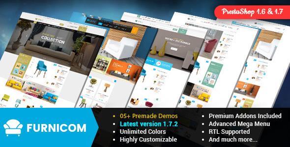 Furnicom - Responsive PrestaShop Furniture Theme - Shopping PrestaShop